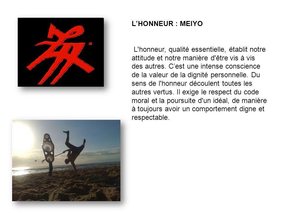 L'HONNEUR : MEIYO