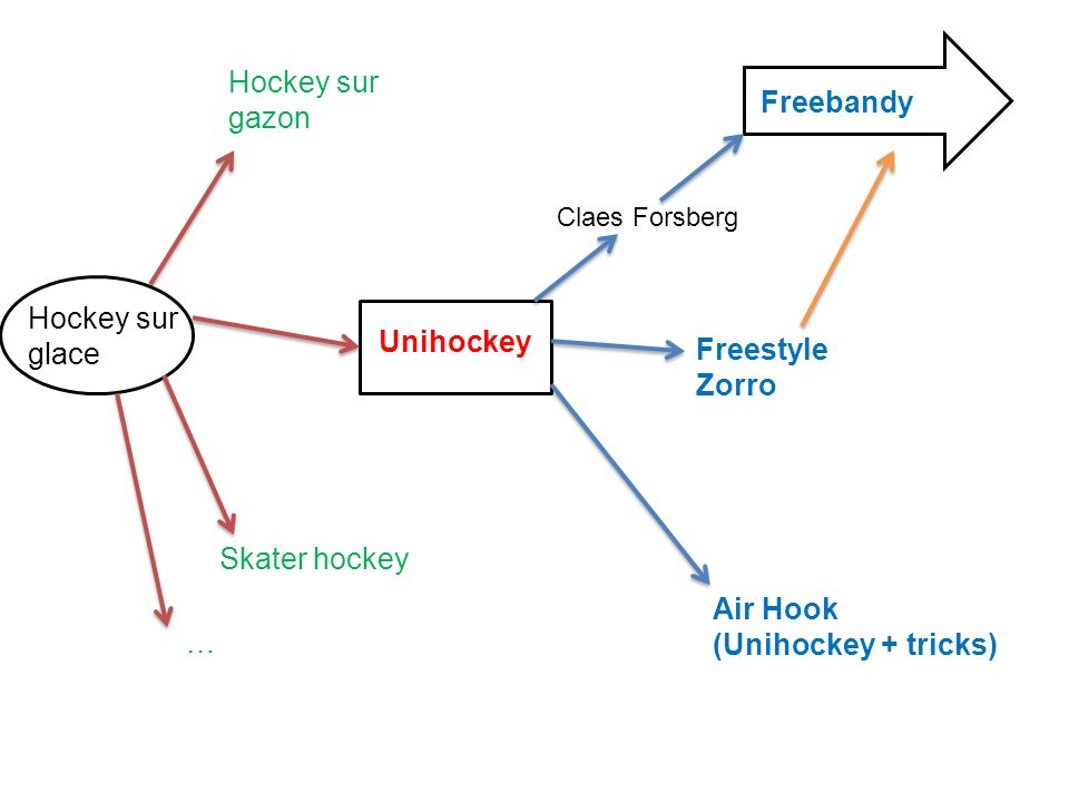 Hockey sur gazon Freebandy Hockey sur glace Unihockey Freestyle Zorro