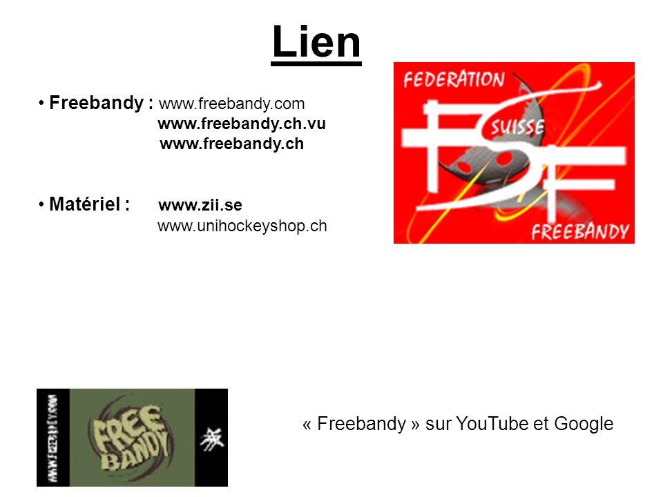 Lien Freebandy : www.freebandy.com Matériel : www.zii.se