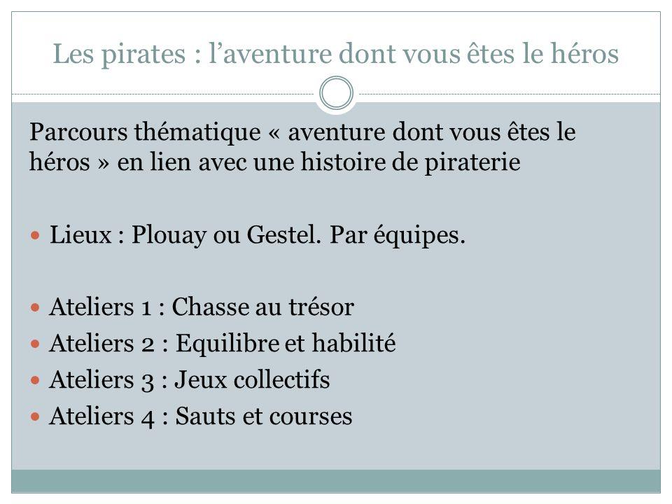 Les pirates : l'aventure dont vous êtes le héros