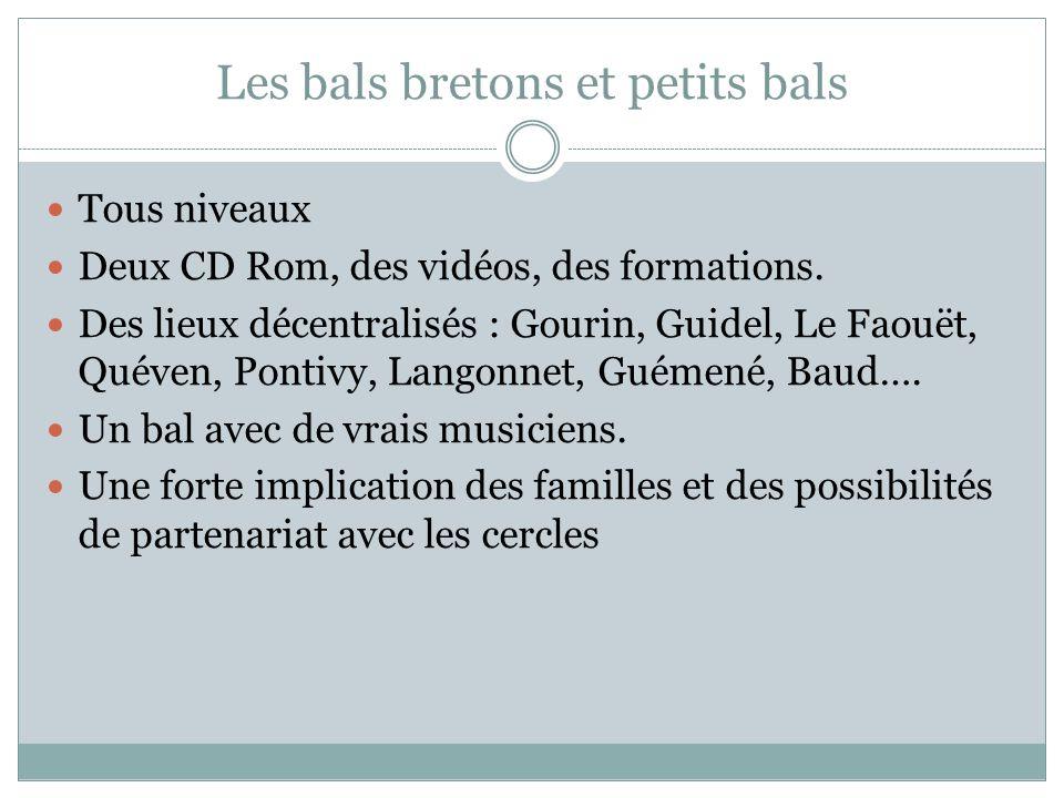 Les bals bretons et petits bals