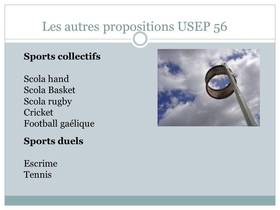 Les autres propositions USEP 56