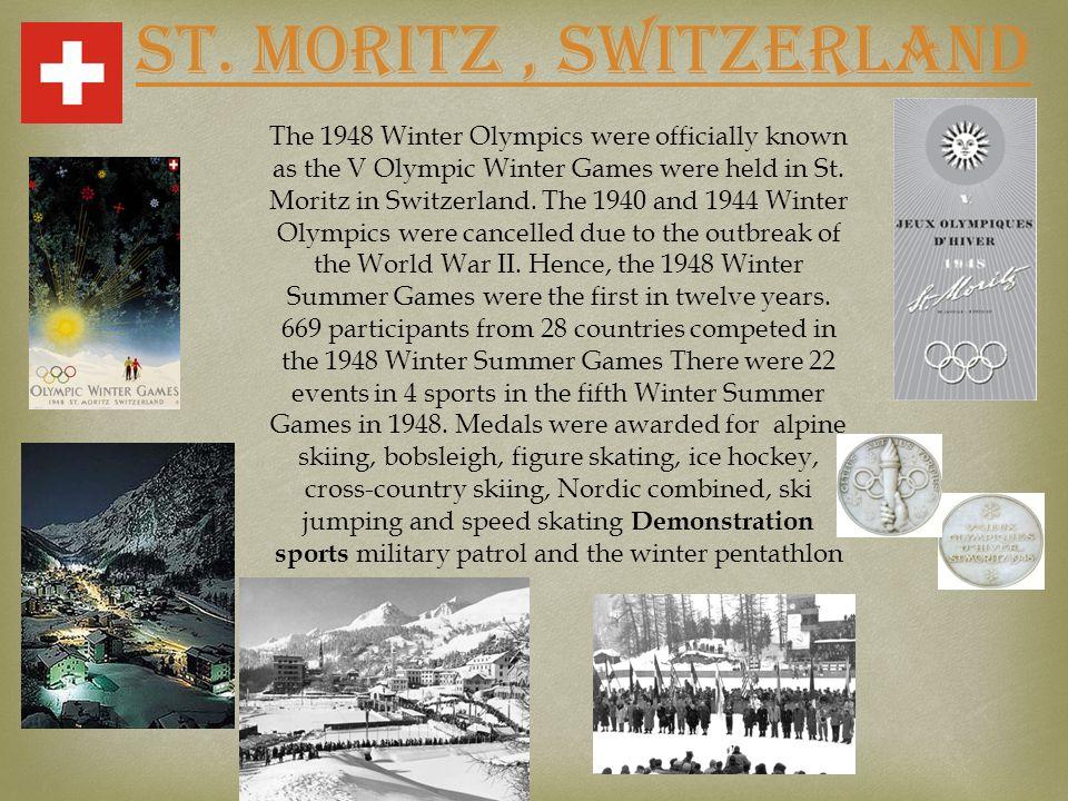 St. Moritz , SWITZERLAND