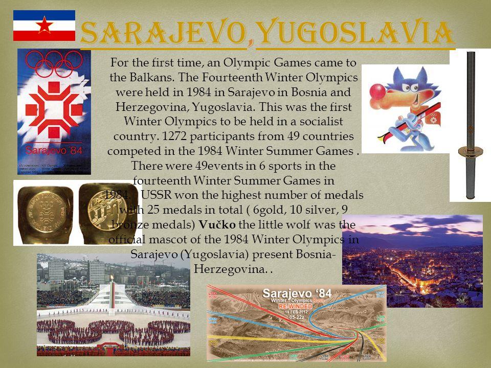 Sarajevo,Yugoslavia