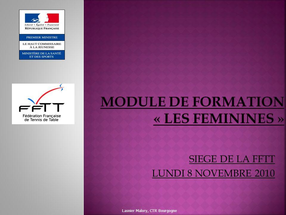 MODULE DE FORMATION « LES FEMININES »