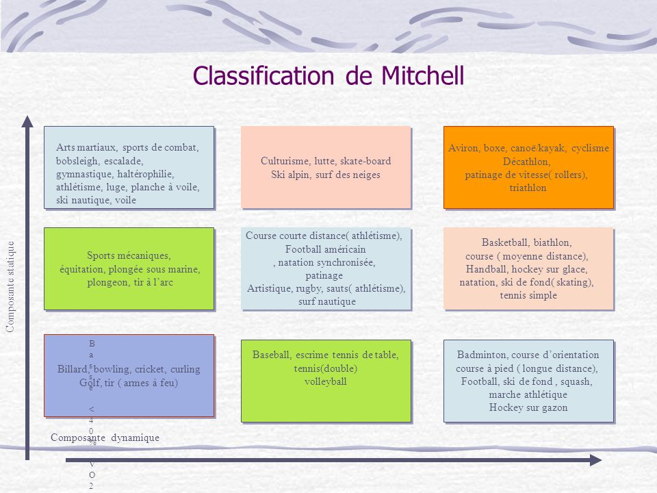 Classification de Mitchell