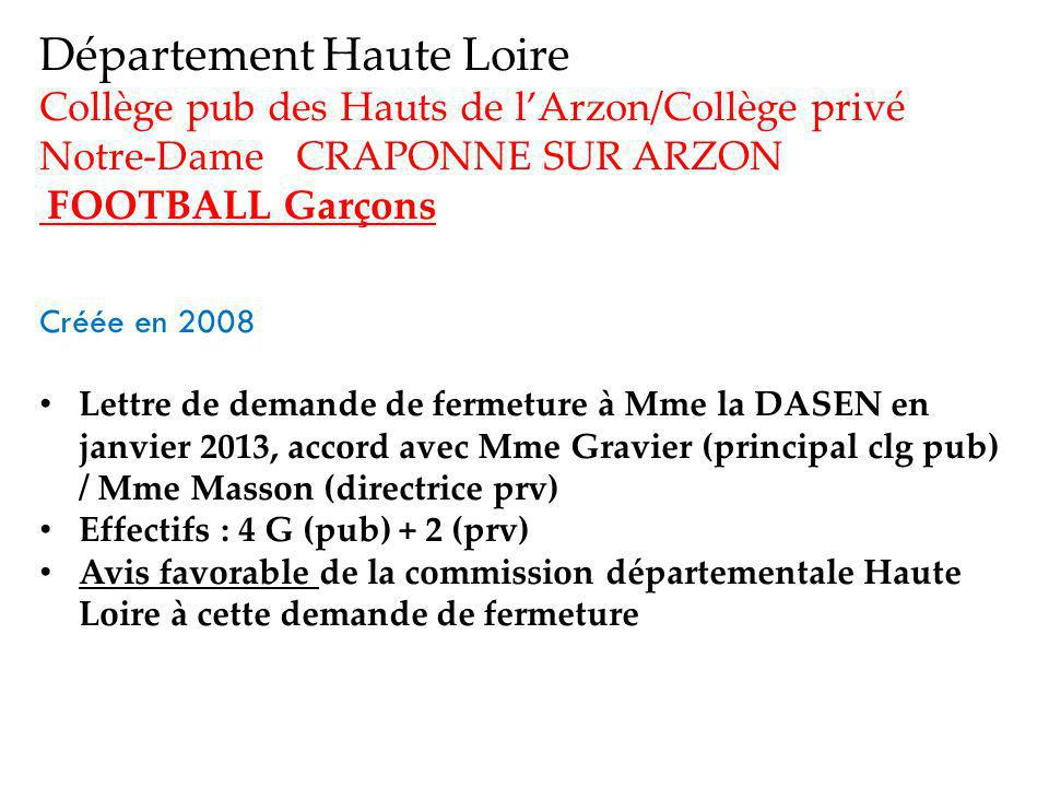 Département Haute Loire