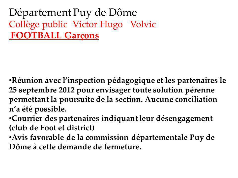 Département Puy de Dôme