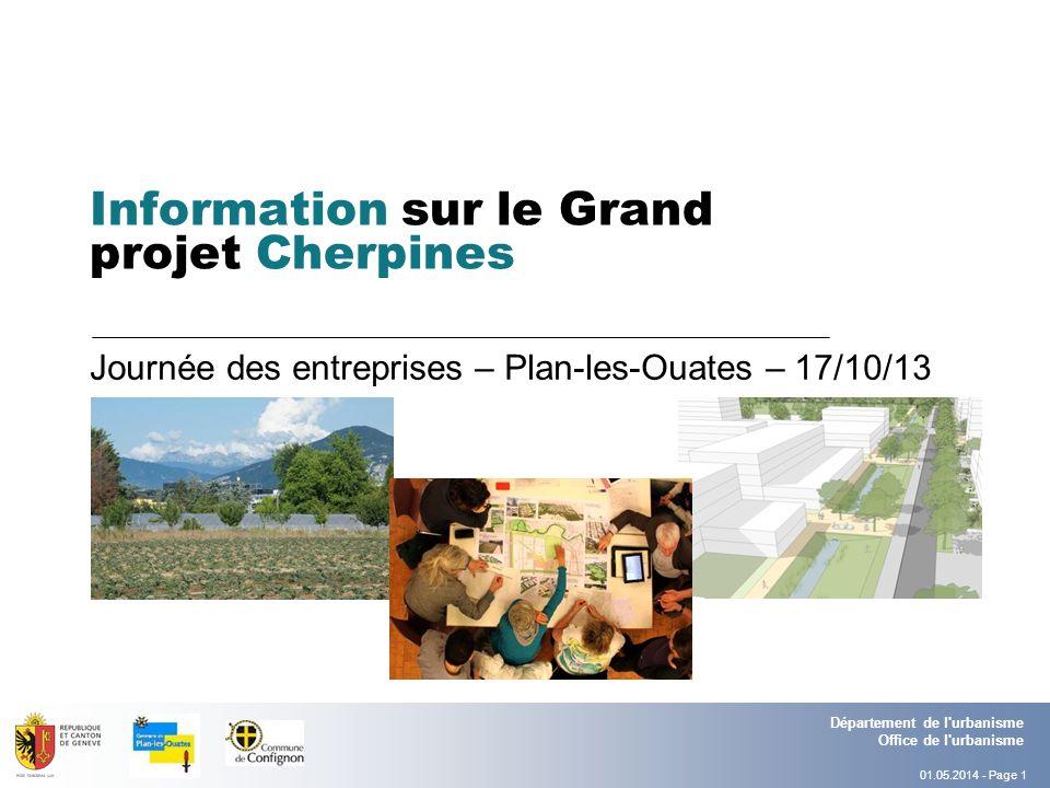 Information sur le Grand projet Cherpines