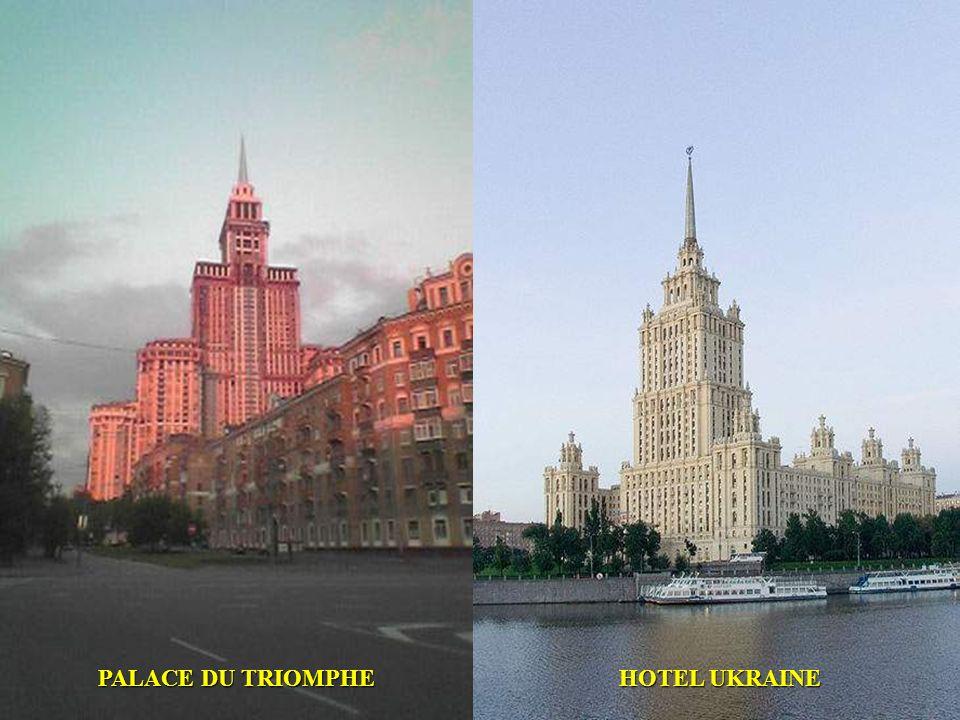 PALACE DU TRIOMPHE HOTEL UKRAINE