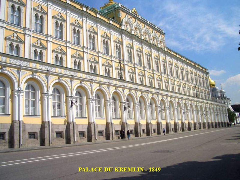 PALACE DU KREMLIN - 1849