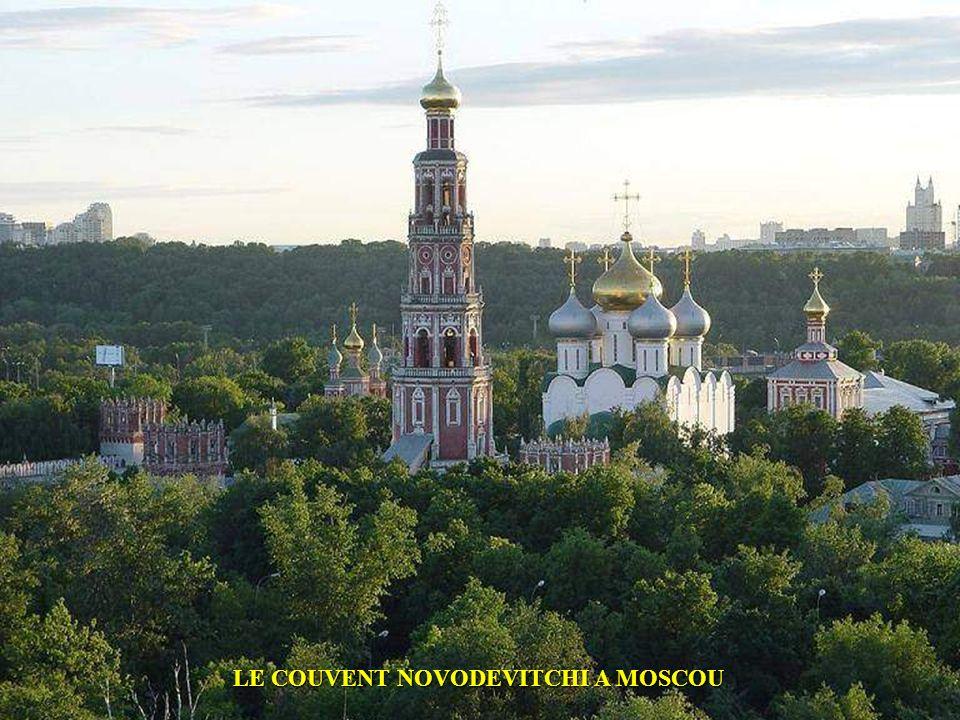 LE COUVENT NOVODEVITCHI A MOSCOU