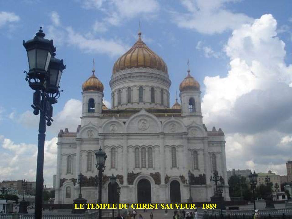 LE TEMPLE DU CHRIST SAUVEUR - 1889