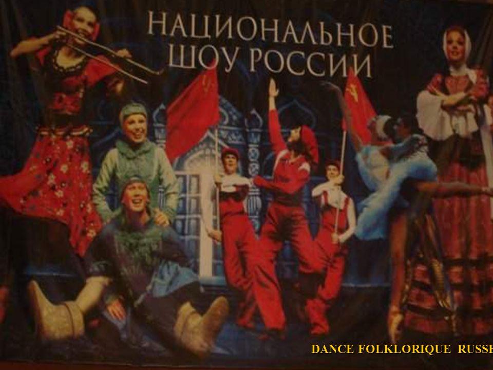DANCE FOLKLORIQUE RUSSE