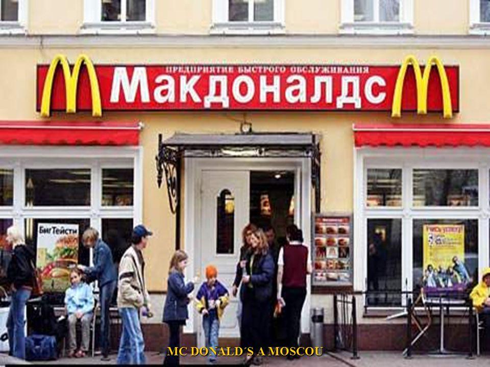 MC DONALD´S A MOSCOU