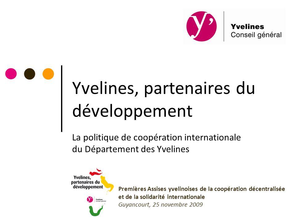 Yvelines, partenaires du développement