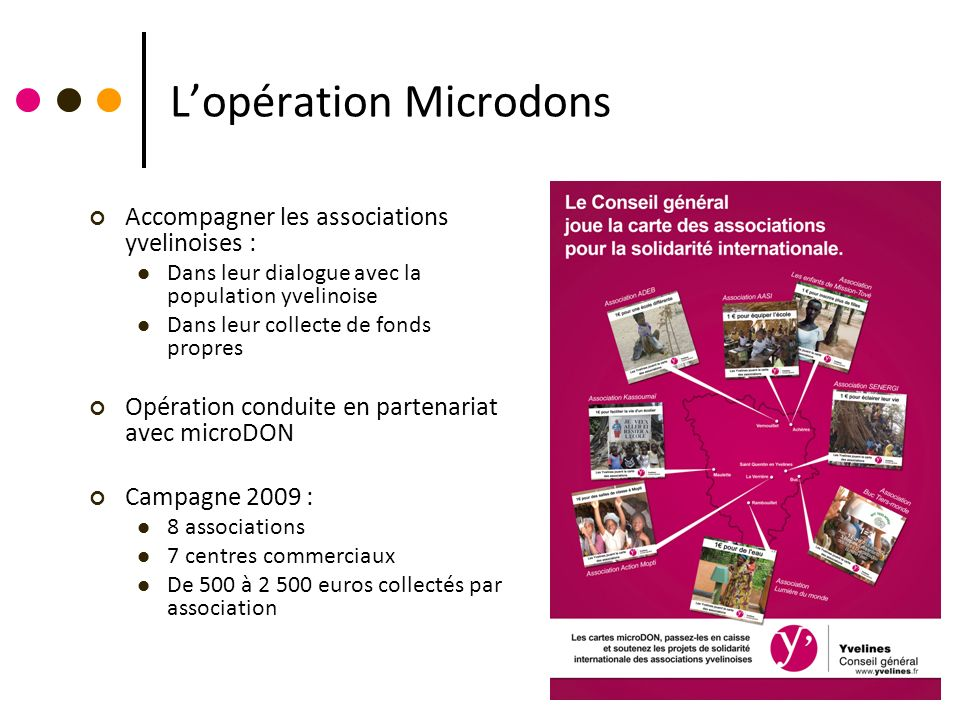 L'opération Microdons