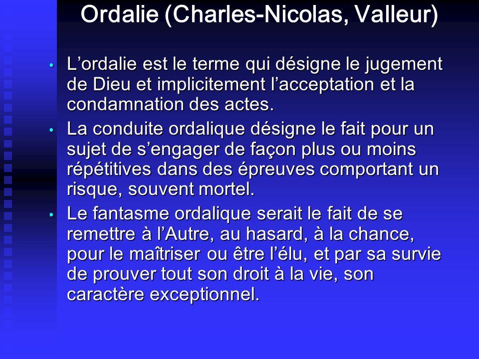Ordalie (Charles-Nicolas, Valleur)