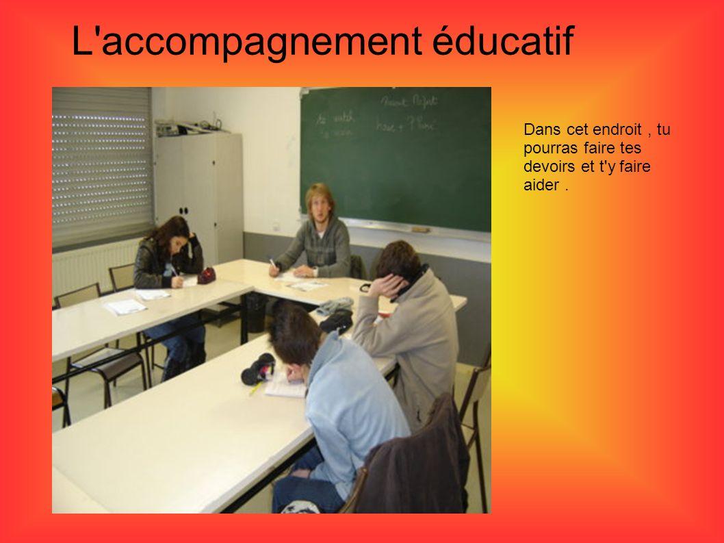 L accompagnement éducatif