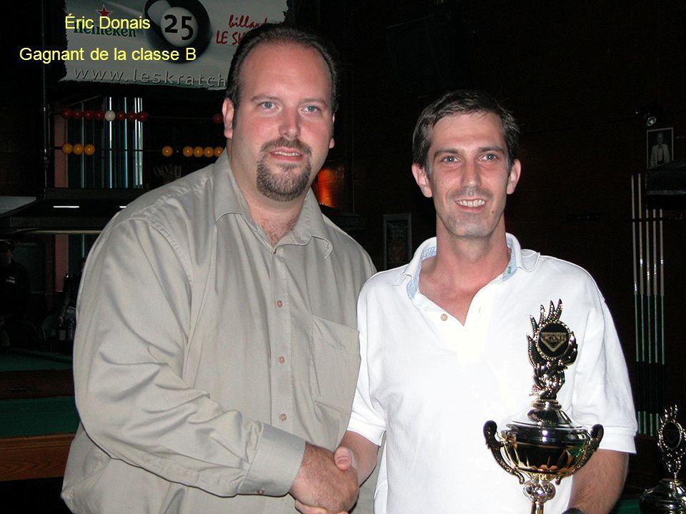 Éric Donais Gagnant de la classe B