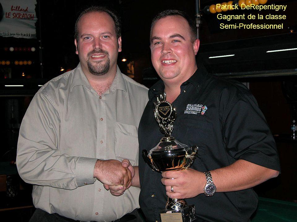 Patrick DeRepentigny Gagnant de la classe Semi-Professionnel