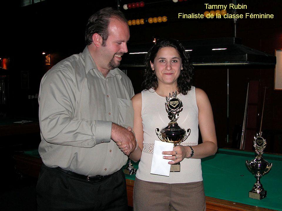 Finaliste de la classe Féminine