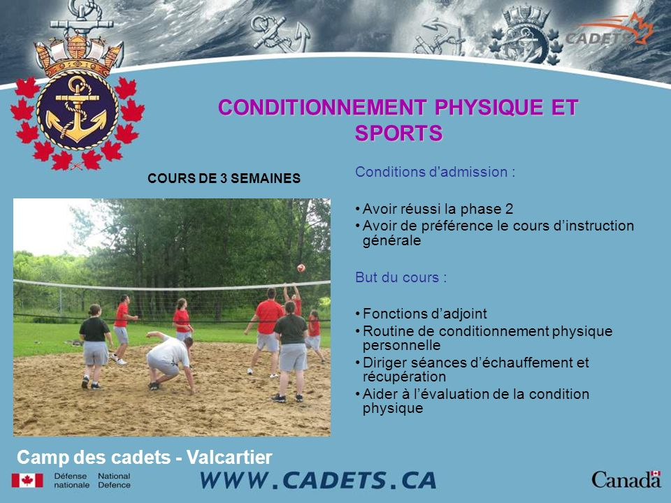 CONDITIONNEMENT PHYSIQUE ET SPORTS