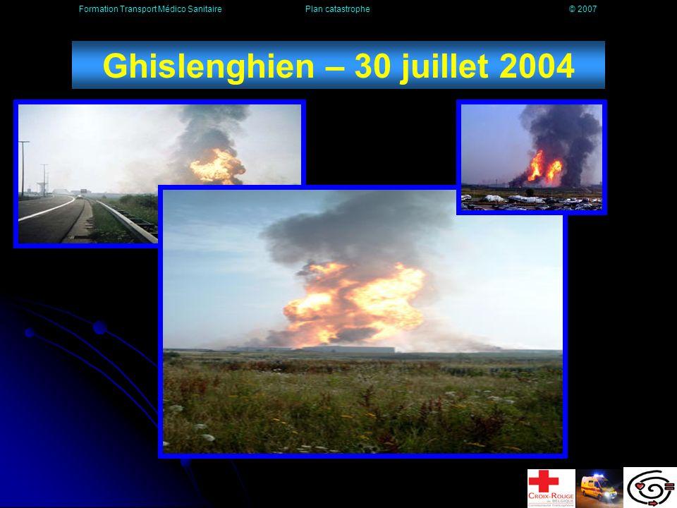 Ghislenghien – 30 juillet 2004
