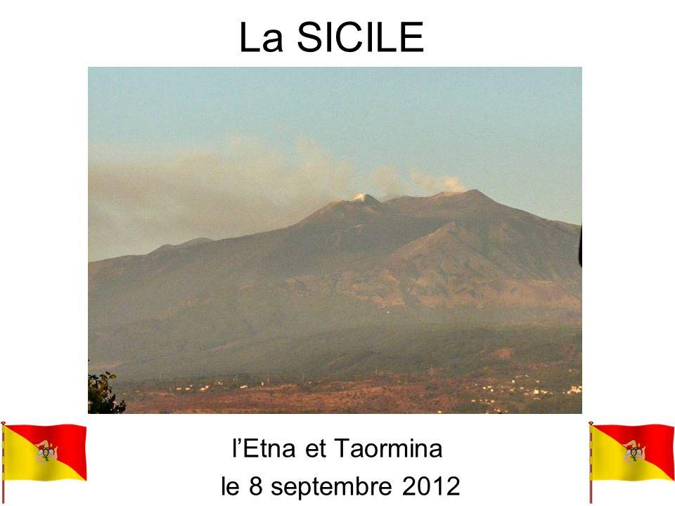 l'Etna et Taormina le 8 septembre 2012