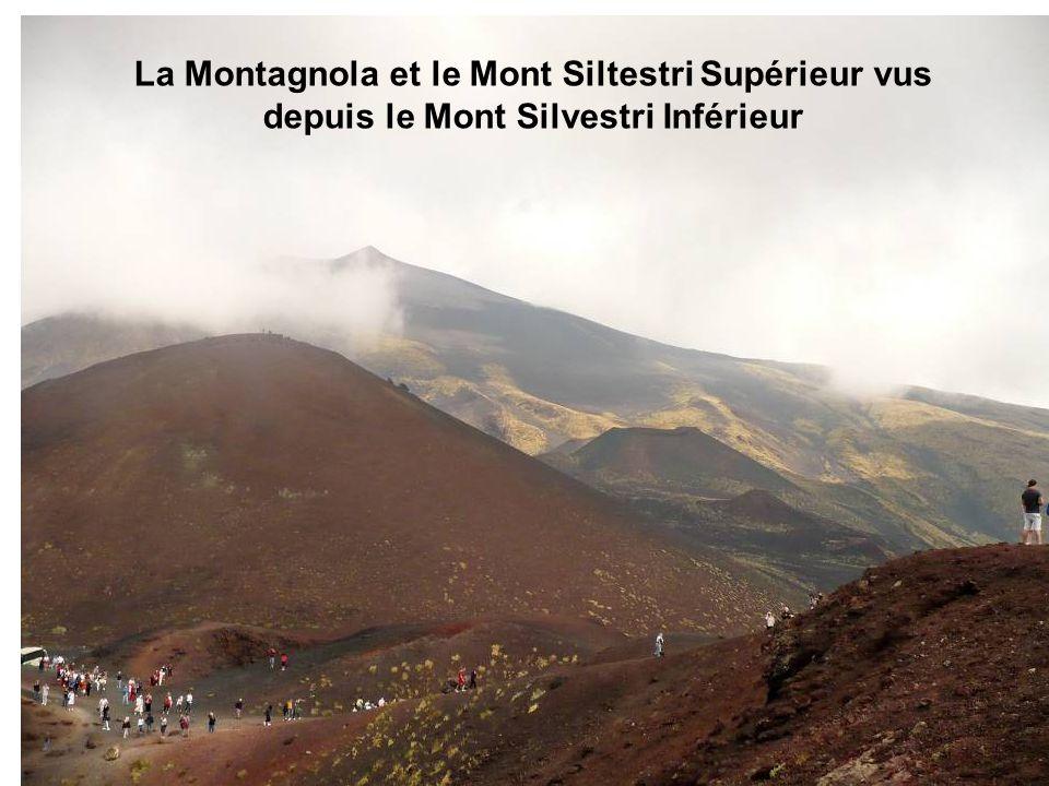 La Montagnola et le Mont Siltestri Supérieur vus depuis le Mont Silvestri Inférieur