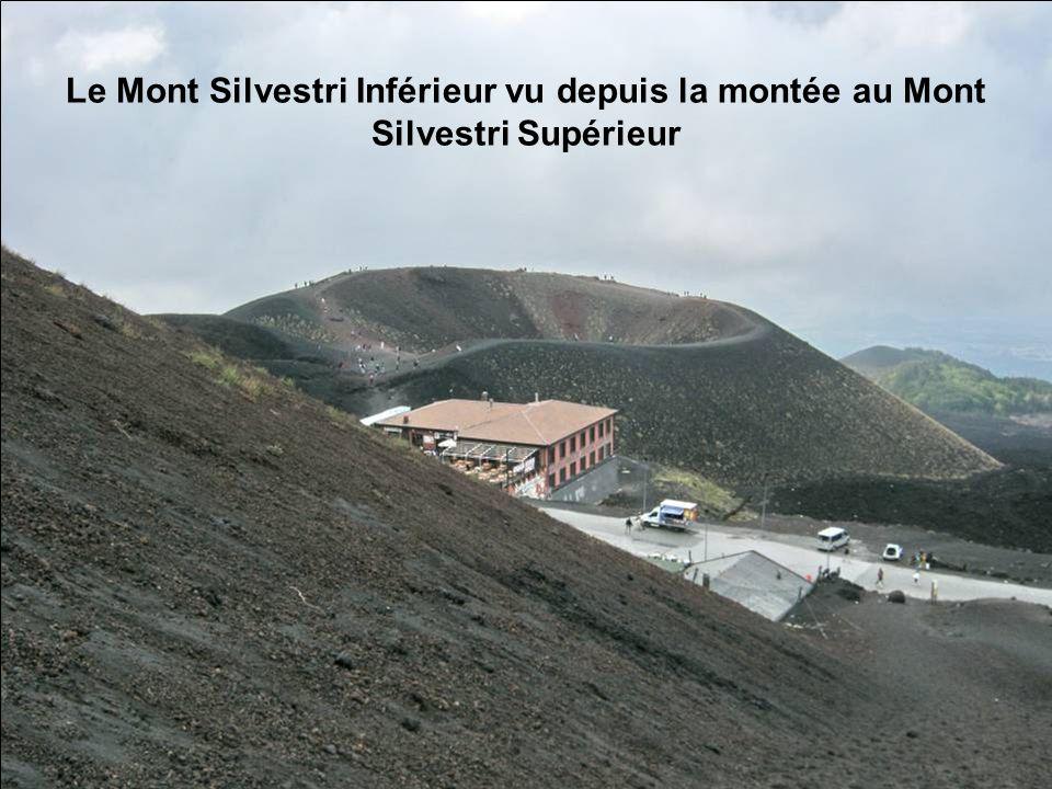 Le Mont Silvestri Inférieur vu depuis la montée au Mont Silvestri Supérieur