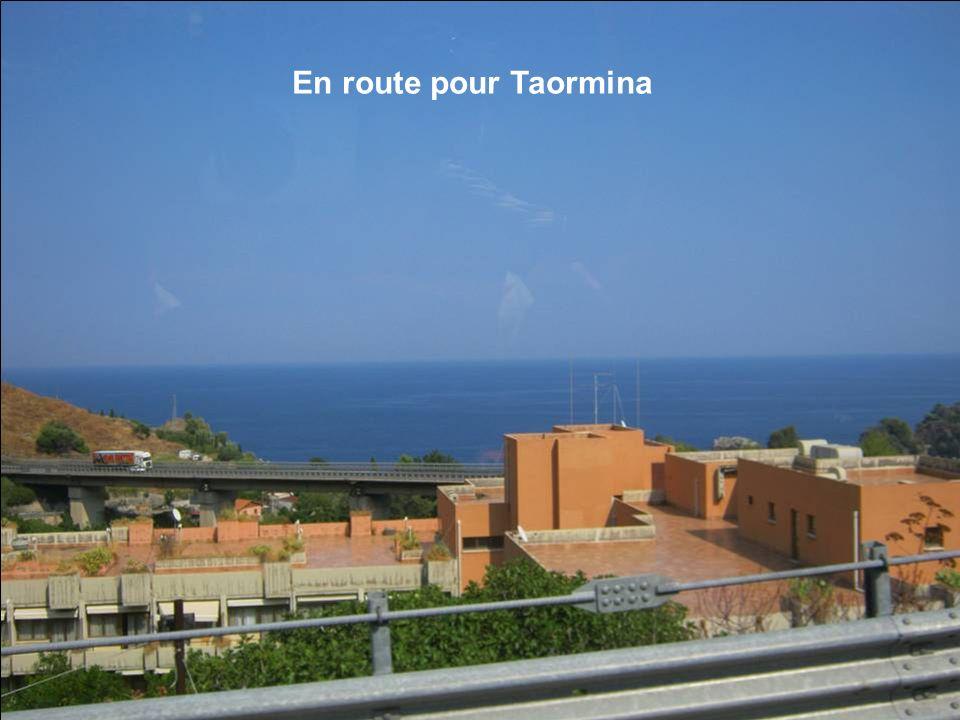 En route pour Taormina