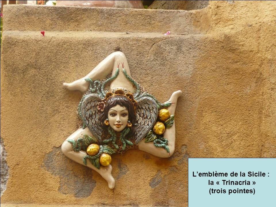 L'emblème de la Sicile :