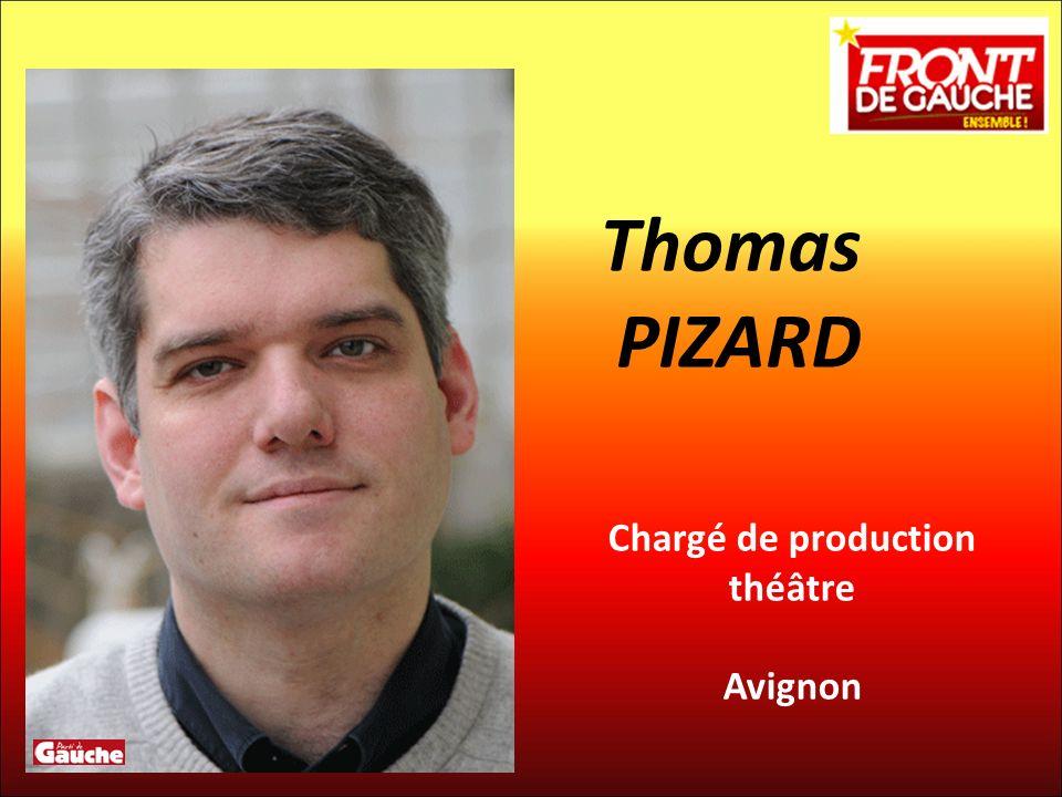 Chargé de production théâtre