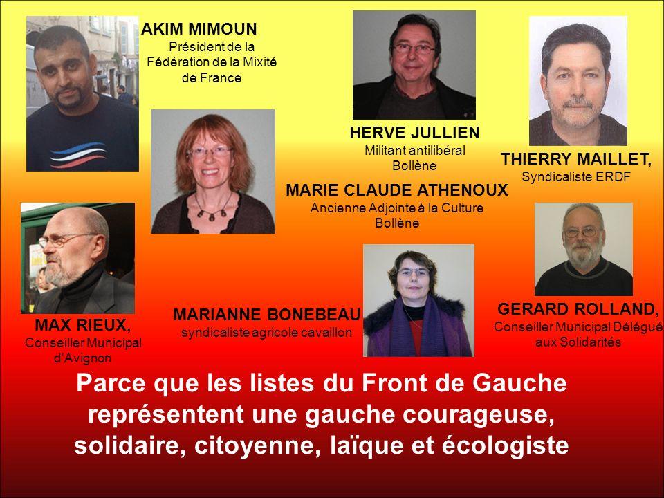 AKIM MIMOUN Président de la Fédération de la Mixité de France. HERVE JULLIEN. Militant antilibéral.