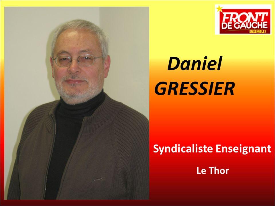 Daniel GRESSIER Syndicaliste Enseignant Le Thor 8