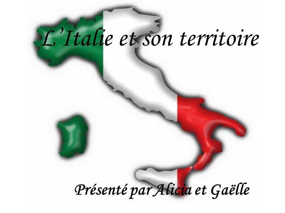 L'Italie et son territoire