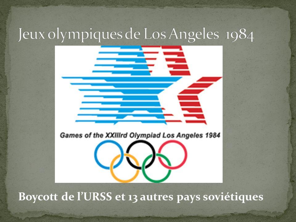 Jeux olympiques de Los Angeles 1984