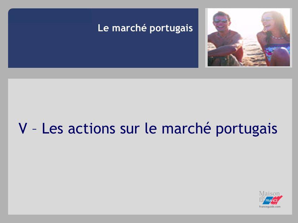 V – Les actions sur le marché portugais