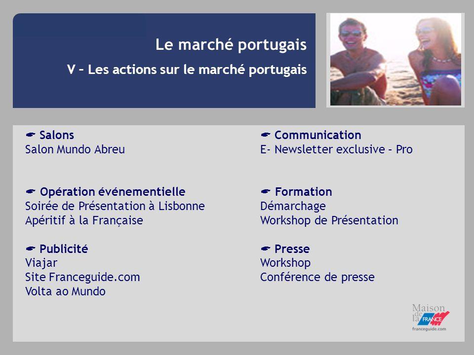 Le marché portugais V – Les actions sur le marché portugais  Salons