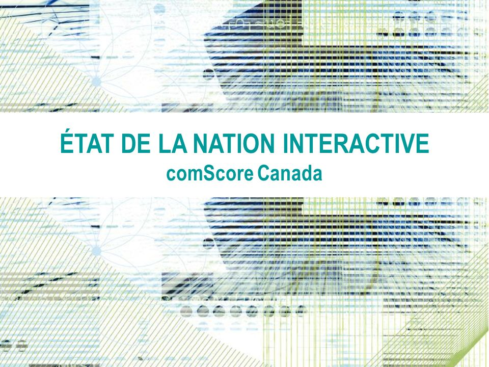 ÉTAT DE LA NATION INTERACTIVE