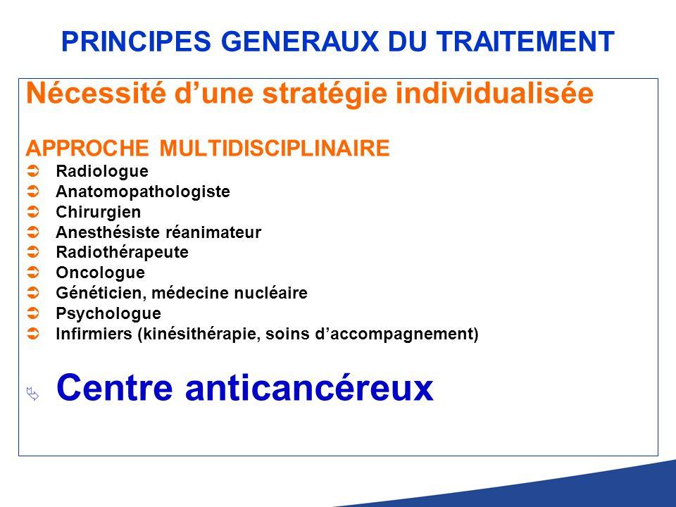 PRINCIPES GENERAUX DU TRAITEMENT