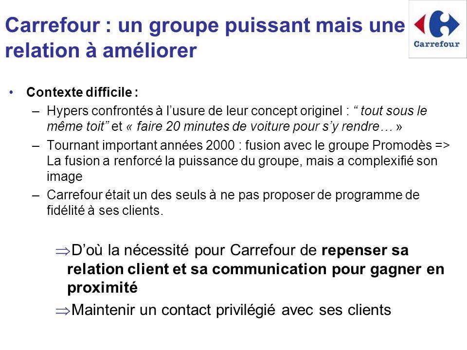 Carrefour : un groupe puissant mais une relation à améliorer