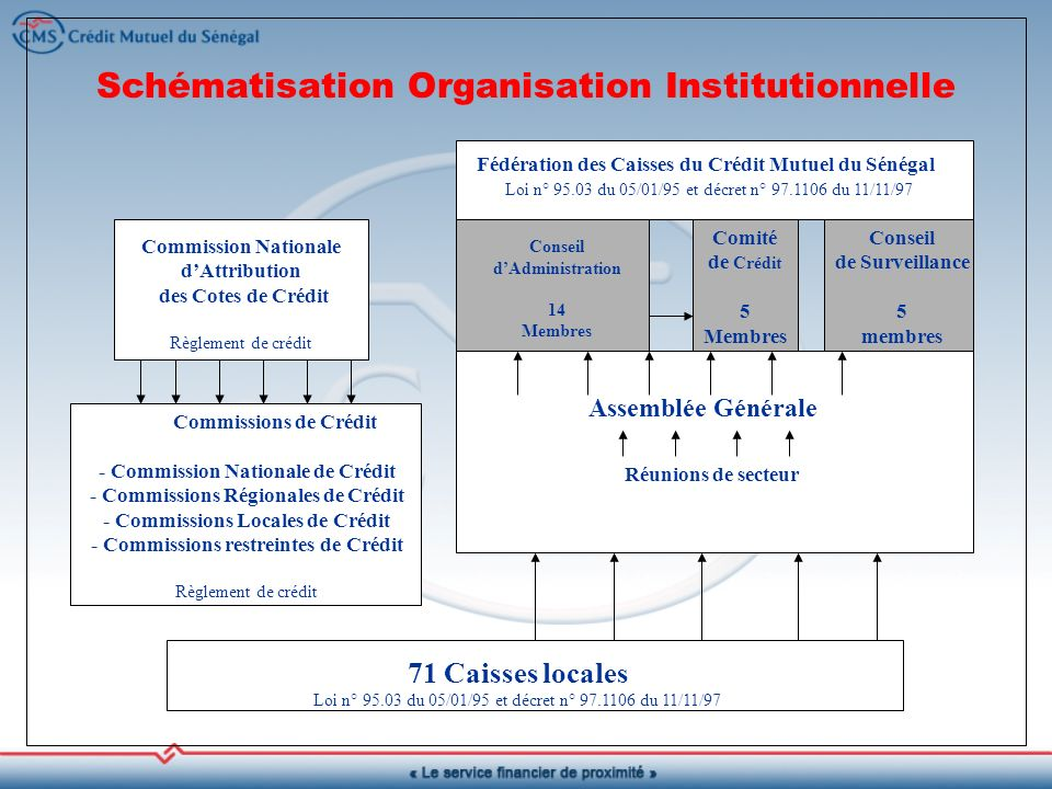 Schématisation Organisation Institutionnelle