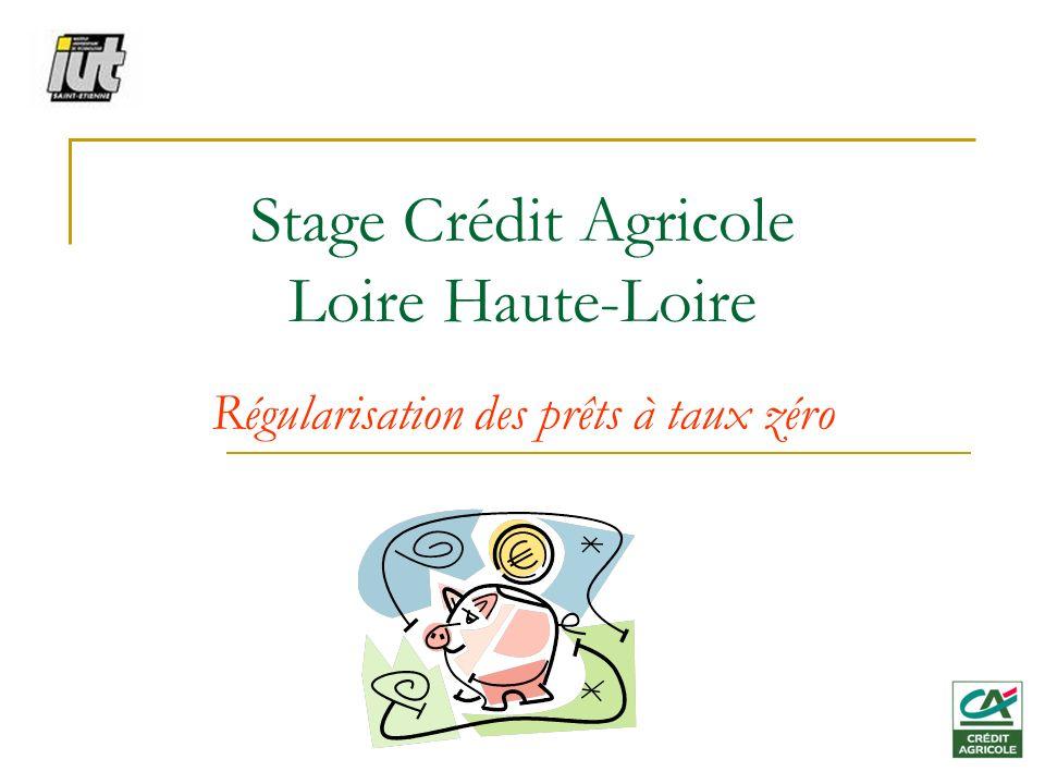 Stage Crédit Agricole Loire Haute-Loire
