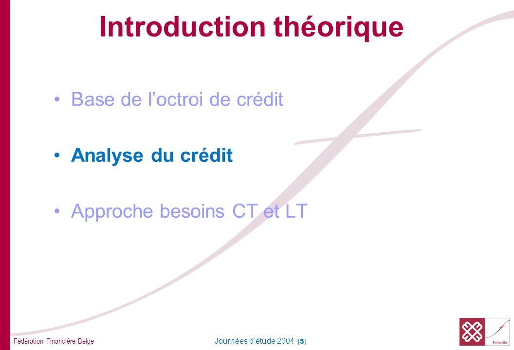 Analyse du crédit Conversation avec le client Découvrir le besoin