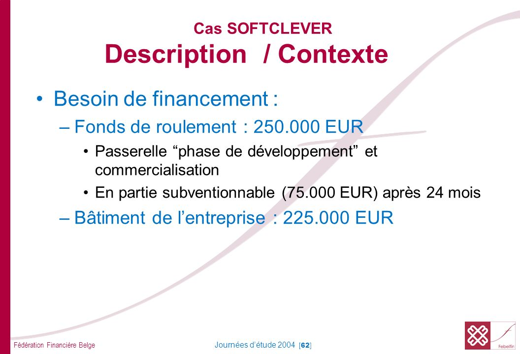 Cas SOFTCLEVER Analyse