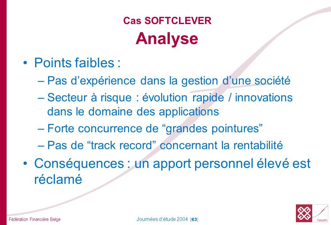 Cas SOFTCLEVER Solution / Décision
