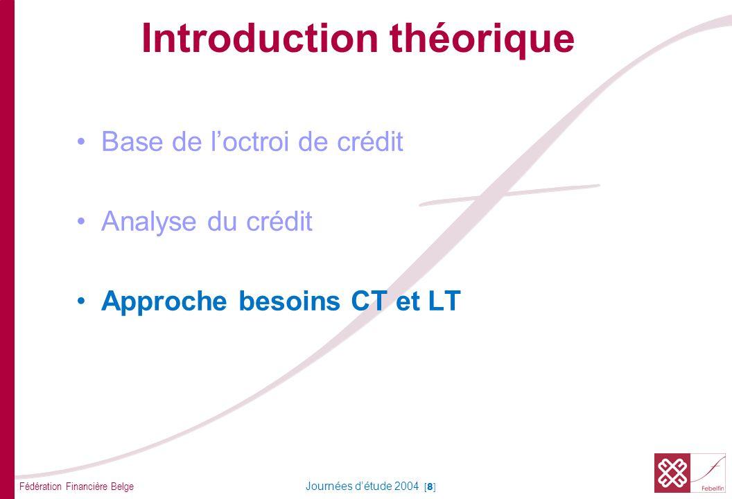 Approche besoins CT et LT