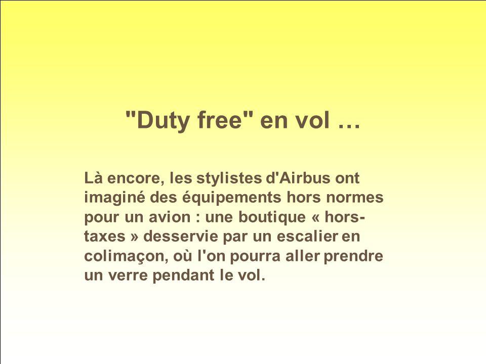 Duty free en vol …